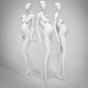 weibliche, schwangere Schaufensterpuppen von the Mannequin House